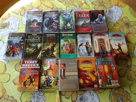 17 Fantasy Paperback Books