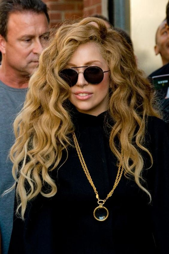 Lady Gaga - I want my hair to always look like this wig of hers. Also, way to rock a turtle neck