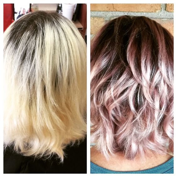 Ombr 233 Hair Rose Pastel