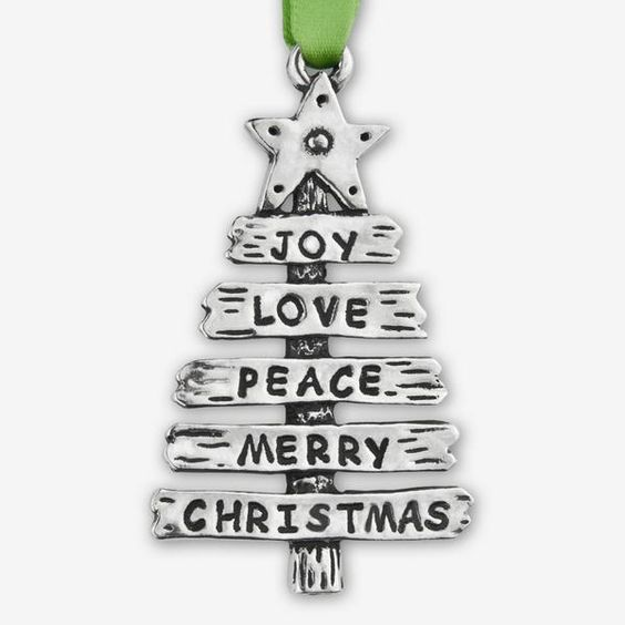 Basic Spirit: Holiday Ornaments: Word Tree