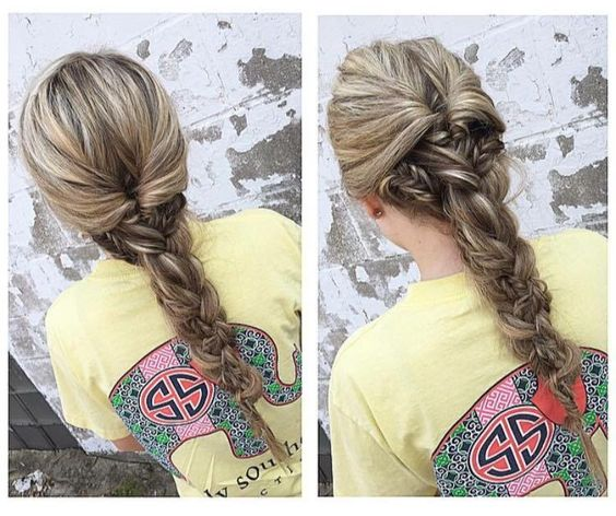 Anything creation fresh from our #braidbar! Hair by Riley. #cowanhair #cowanbraids