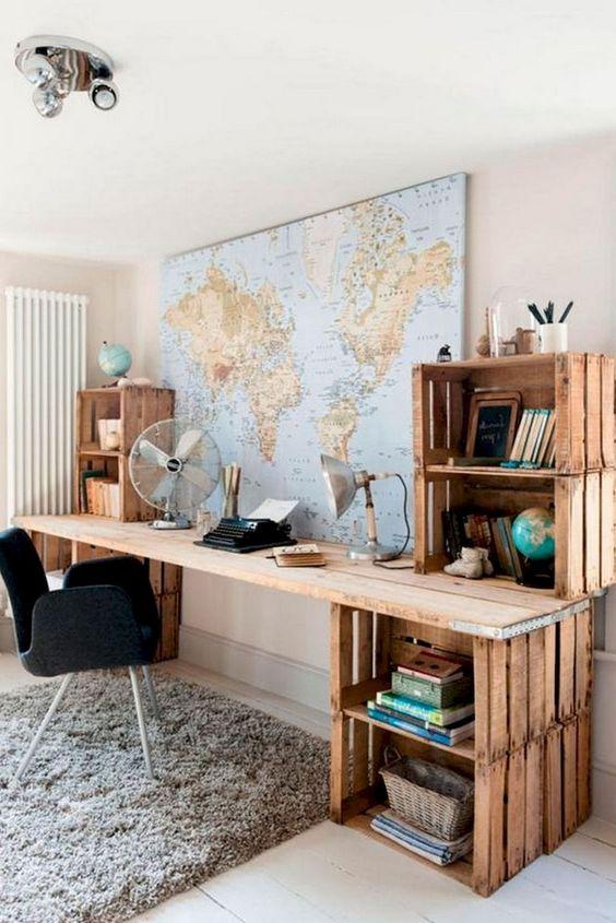 88+ Simple Inexpensive DIY Pallet Furniture Ideas #furnituredesign #furnituremakeover #furniturediy