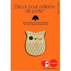 COCOBOHEME - OEILLETON DE PORTE ECO-DESIGN CAMELEON