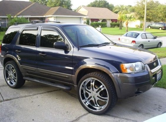 2003 Ford Escape Owners Manual
