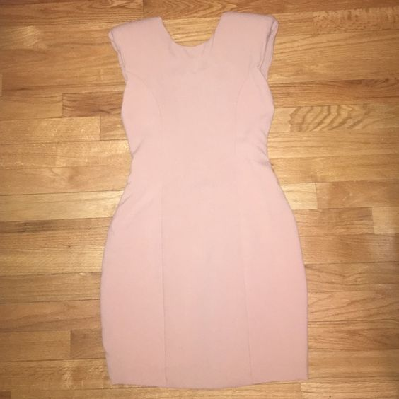 ASOS Dress Never worn open back, shoulder padded ASOS dress! Dresses