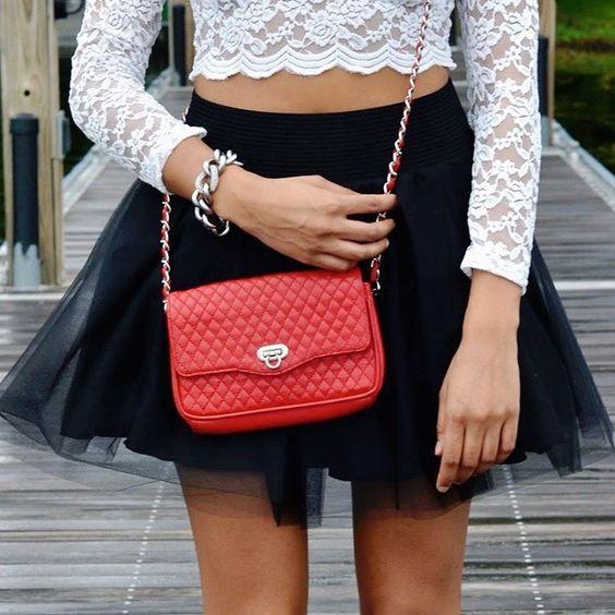 """TGIF! Beauty @aparisianinamerica is weekend ready wearing our Madison Mini tulle skirt #blisstulle #tulle #tutu #tulleskirt #tulleskirts #chic #edgy…"""