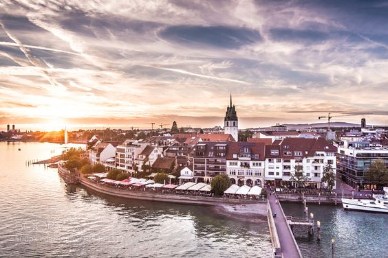 Germany. Friedrichshafen. Dawn by Shitov travel with us at www.pifizone.com