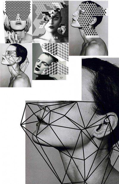 Adding geometry to portraits