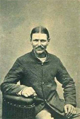 Boston Corbett shot John Wilkes Booth in the burning barn