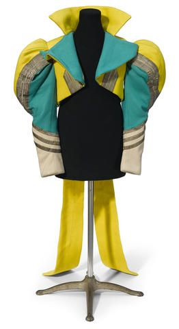 A Munchkin soldier's jacket from The Wizard of Oz
