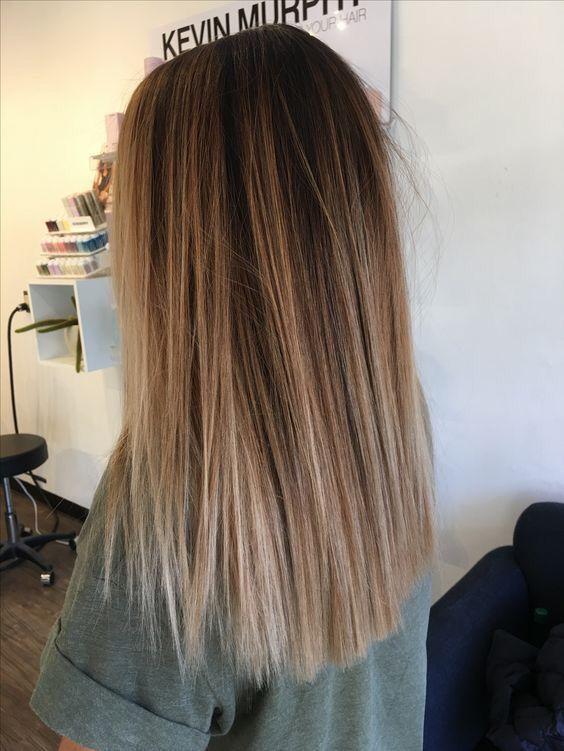 Kendallhall42 Balayage Straight Hair Hair Styles Medium Length Hair Straight