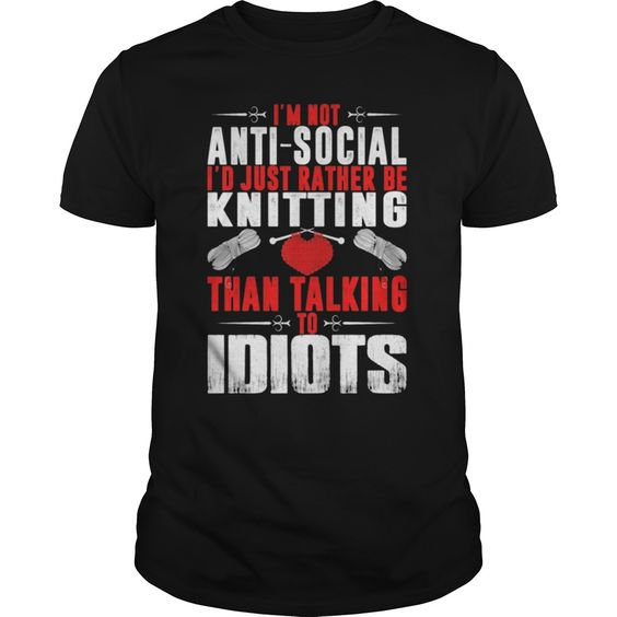 #Knitting. 100% Printed in the U.S.A - Ship Worldwide. Not sold in stores. Guaranteed safe and secure checkout via: Paypal | VISA | MASTERCARD? | YeahTshirt.com
