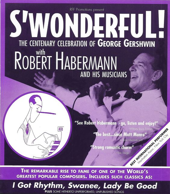 S'WONDERFUL! Evesham Arts Centre will be recounting the great life of George Gershwin in a scripted, musical form. Visit http://www.eveshamartscentre.co.uk/ for tickets.