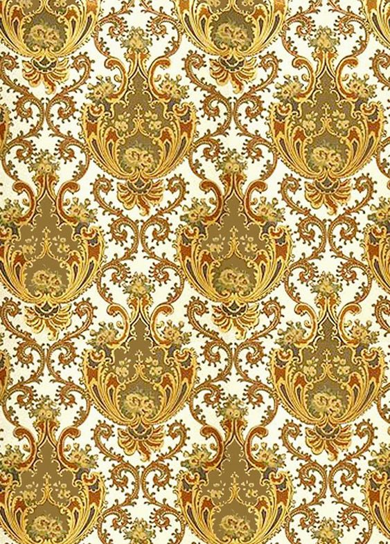 Rococo Wallpaper The Emphasis In This Wallpaper Is