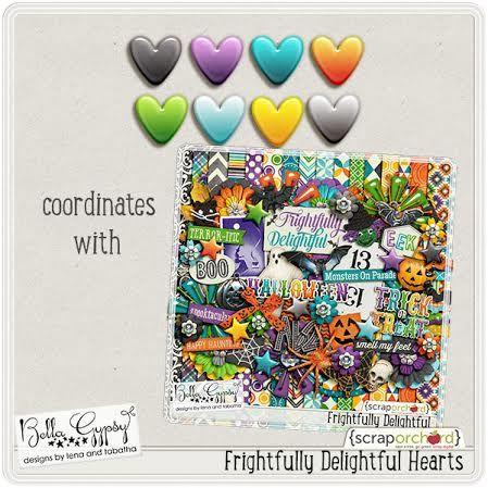 Frightfully Delightful Hearts Blog Freebie by Bella Gypsy
