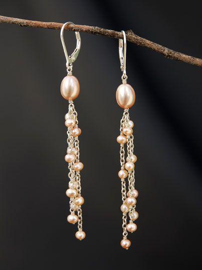 Pink Pearl Multi Dangles