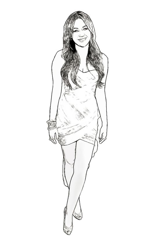 miley cyrus celebrity coloring page created by dan newburn art pinterest miley cyrus coloring pages and created by - Celebrity Coloring Pages Print