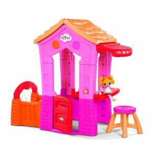 A perfect playhouse for Addison (and Layla) for her birthday.