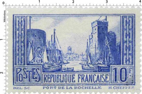 Port de la Rochelle (1929) - Charente-Maritime