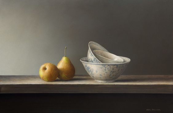 Pears & bowls