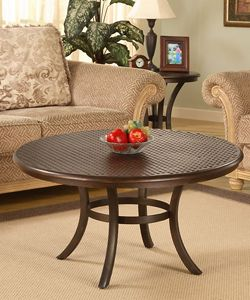 @Overstock - Enhance your home decor with this hammered metal coffee table  Elegant accent table features a hammer tone metal top  Sturdy table is supported by a strong steel framehttp://www.overstock.com/Home-Garden/Hammered-Metal-Coffee-Table/2536240/product.html?CID=214117 $217.99