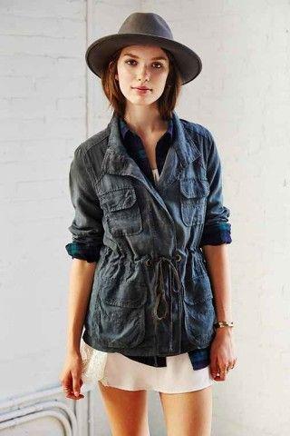 Lacausa Surplus Jacket, How would you style this? http://keep.com/lacausa-surplus-jacket-by-kateintn/k/2TRmeCgBNX/