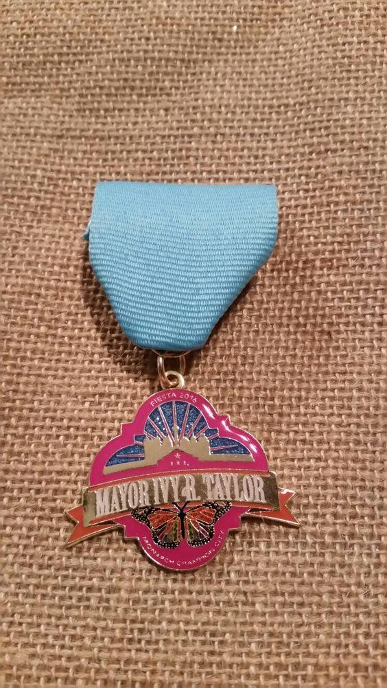 2016 Mayor Ivy Taylor Medal