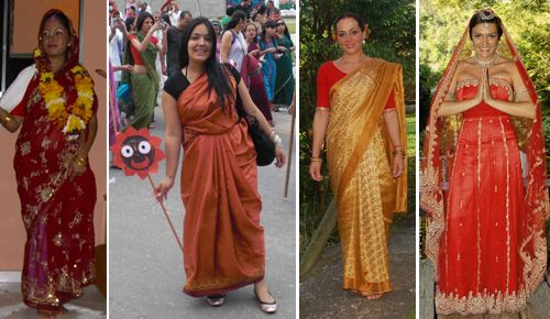 roupas indianas