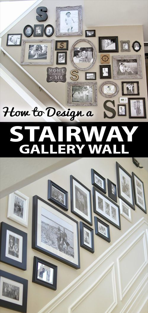 Have Uou Ever Tried To Sreate A Stairway Gallery Wall Stop By Our