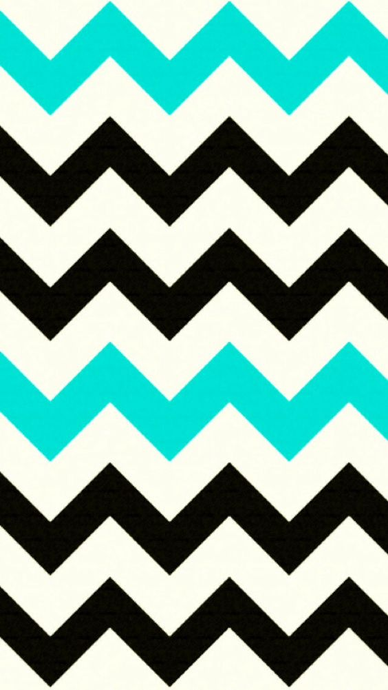 turquoise iphone wallpaper black and turquoise chevron iphone background 13151