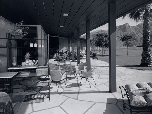 Ball-Arnaz Residence - Thunderbird Country Club, Rancho Mirage, CA - Paul Revere Williams, Architect. Photo by Julius Shulman: