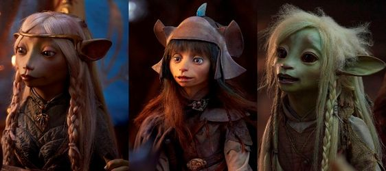The Dark Crystal: Age of Resistance - Mark Hamill Caitriona Balfe Andy Samberg Taron Egerton & More Announced as Voice Cast  First Look Photos