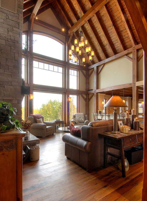 timber frames interior design and interiors on pinterest. Black Bedroom Furniture Sets. Home Design Ideas