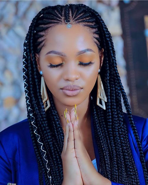 50 Cool Cornrow Braid Hairstyles To Get In 2020 In 2020 Cornrow Braid Styles African Hair Braiding Styles Braids Hairstyles Pictures