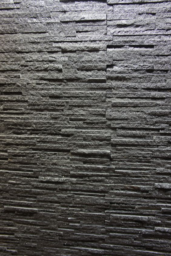 Dark Grey Stone Wall Cladding For Your Home Interior Interior Stones Pinterest Home Wall