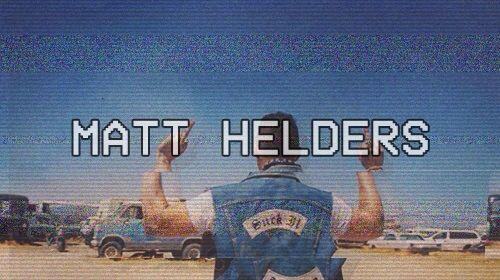 Matt helders ofc