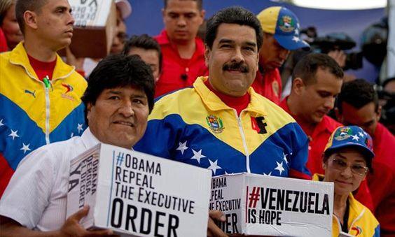 "Maduro: ""Tenemos 13 millones de firmas contra el decreto de Obama"" - http://goo.gl/QkuPTV  "