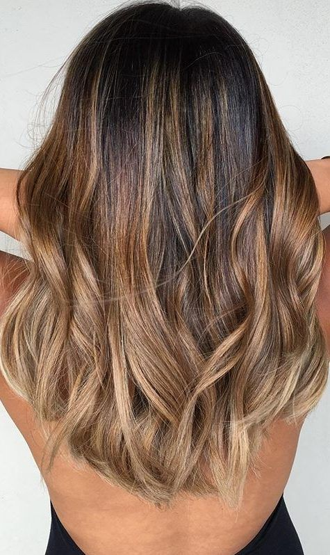 45 Dark Brown To Light Brown Ombre Long Hair Color Ideas With