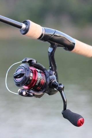 one f-i-n-e spinning reel. shimano stradic ci4+. photo copyright, Fishing Reels