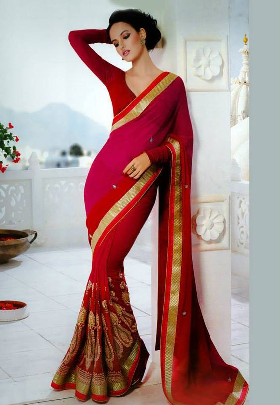 Designer Saree Collection - www.mathan.in