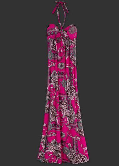 Long Maxi Pattern Dress