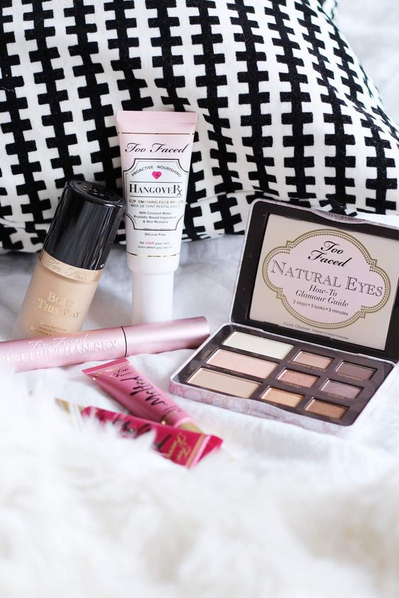 Too Faced Cosmetics Haul and First Impressions