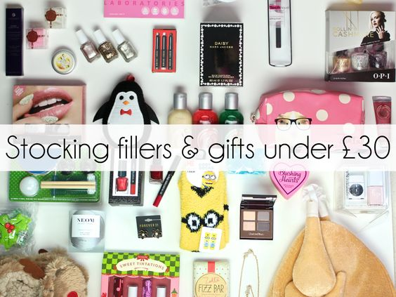 flutter and sparkle: Christmas gift ideas: Stocking fillers and gifts under £30