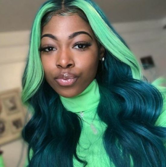 Sewing Hairstyle 40 Kickass Designs Of 2020 Curly Craze Hair Styles Wig Hairstyles Green Hair