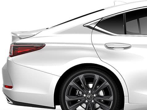 Lexus Es 350 F Sport Exterior Shown In Ultra White In 2020 Lexus Es Luxury Sedan Lexus