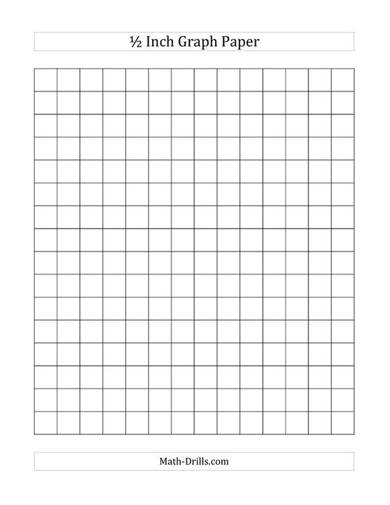 Number Names Worksheets 1 2 in graph paper : Paper and Graph paper on Pinterest