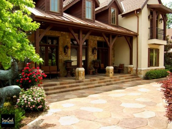 Texas hill country house plans porches
