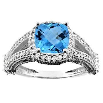 https://ariani-shop.com/14k-white-gold-diamond-engagement-ring-w-020-carat-brilliant-cut-diamonds-3-16-in-5mm-wide-size-6 14k White Gold Diamond Engagement Ring w/ 0.20 Carat Brilliant Cut Diamonds, 3/16 in. (5mm) wide, Size 6