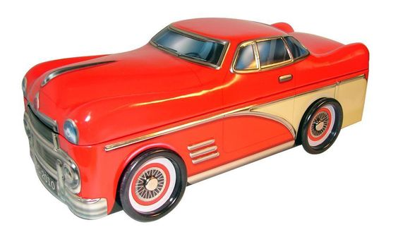 "Blechdose Gebäckdose Vorratsdose "" Limousine "",26 cm Schmuckdose,NEU | eBay"
