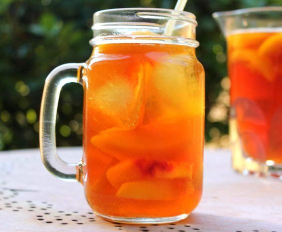 Rezept Pfirsich-Eistee-Konzentrat ... einfach und lecker von MixFix_76 - Rezept der Kategorie Getränke